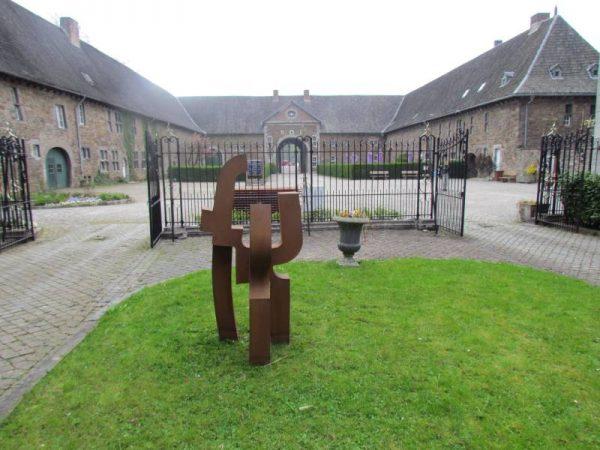 ValDieu - Escultura en Hierro - Carlos Albert Escultor