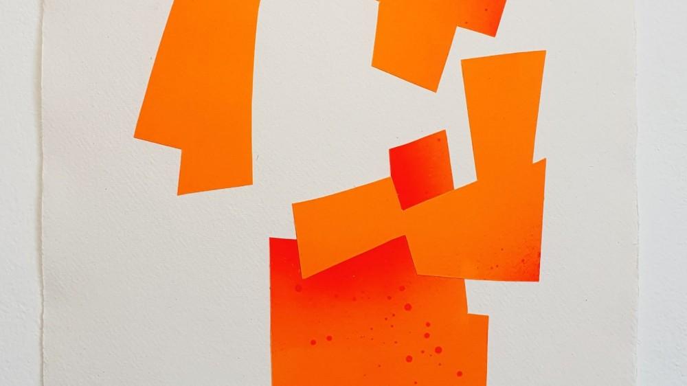 Amigos con Derecho | 16.5x11,8in | 42x30cm | Collage | 2020 | Carlos Albert
