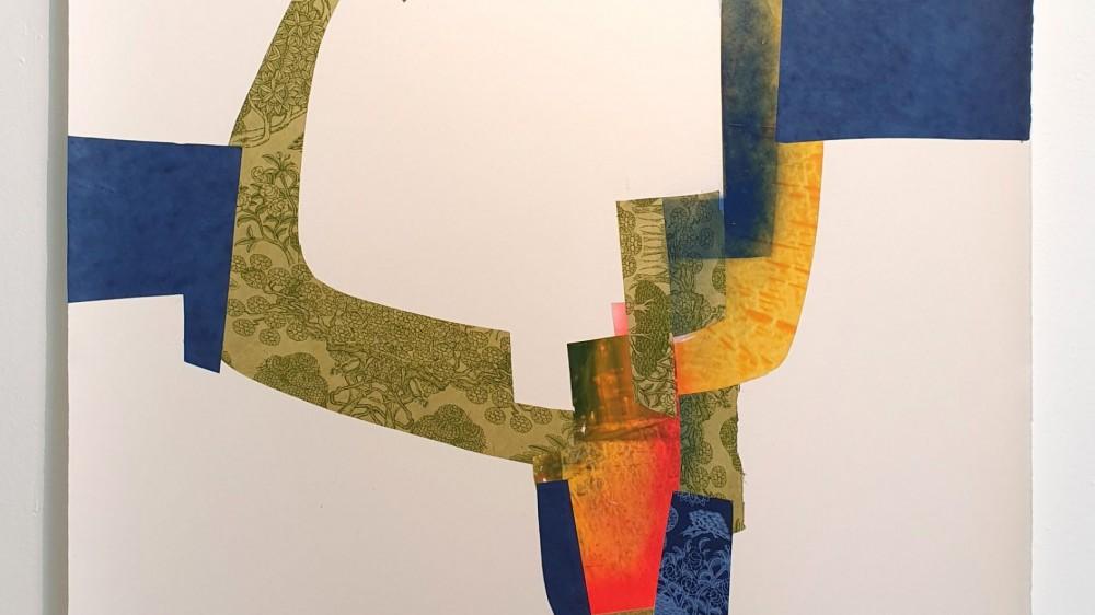 "Quien Sabe | 42.5"" x 29.9"" | 108 x 76 cm | Collage | 2020 | Carlos Albert"